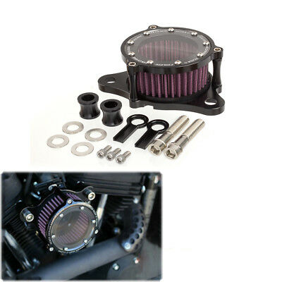Motorcycle Air Filter Intake Cleaner For Harley Davidson Sportster XL 883 1200