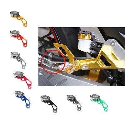 Front Rear Brake Cable Tube Line Clamps Clip For Kawasaki Z1000SX S1000RR SV650