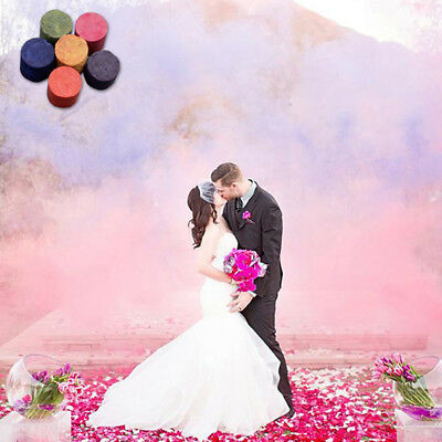 Cake Color Smoke Effect Round Bomb Show Stage Photography Video MV Aid Toy Game
