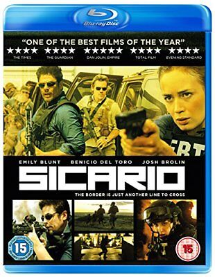 Sicario [Blu-ray] [2018] [DVD][Region 2]
