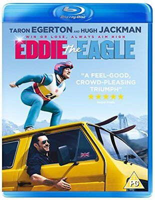 Eddie The Eagle [Blu-ray] [2018] [DVD][Region 2]
