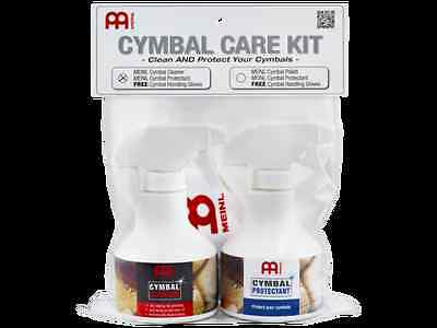 Meinl Cymbal Cleaner/Polish/Protectant Care Kit Pack MCCK-MCCL