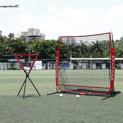 Baseball Net Softball Batting Cage Practice Ball Nylon Net Equipment 55x55cm