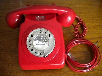 Red Gpo 746 Telephone (1973)