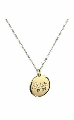Ernstes Design Guardian Angel AN521 Pendant Small without Chain Gold-Plated