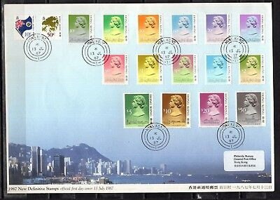 A81747 / Hong Kong / Lot 1987 / Stamps On Cover