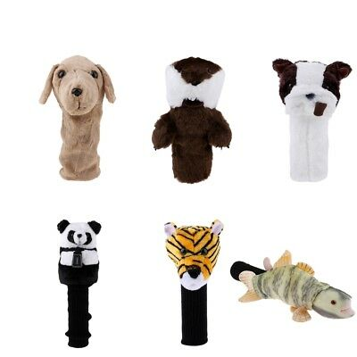 Novelty Animal Sports Golf Head Cover Wood Driver Headcover - 6 Different Styles
