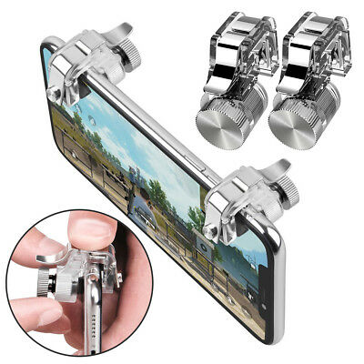 Gaming Trigger Phone Game PUBG Mobile Controller Gamepad for Android IOS iPhone