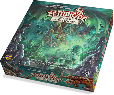 Zombicide Green Horde - No Rest For The Wicked Expansion Board Game - Guillotine