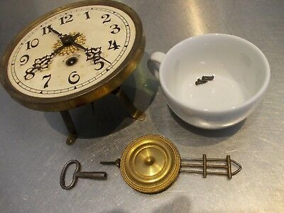 VIENNA VIENNESE style WALL clock movement mechanism SPARE inc UK POST