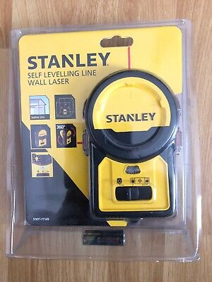 Stanley STHT1-77149 Self Levelling Line Wall Laser - New, Sealed