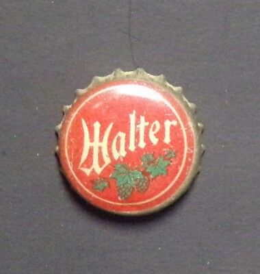 Walter cork backed beer bottle crown cap - Eau Claire, WI - No Reserve!