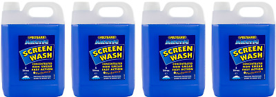Polygard Arctic Screenwash 20L 4x5L