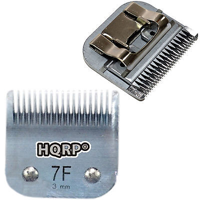"HQRP Size-7F Animal Clipper Blade for Andis Pet Grooming (Leaves hair 1/8"" -3mm)"
