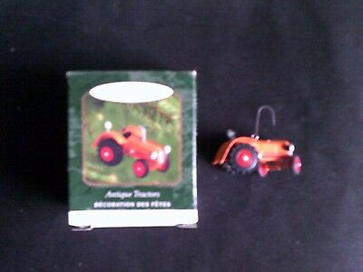 2000 Antique Tractor Keepsake Ornament Hallmark ( Antique Tractor Series #4 )