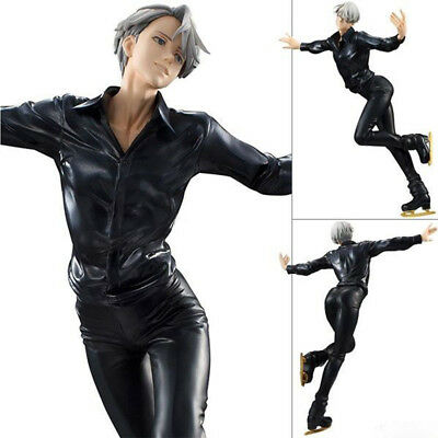 YURI!!! on ICE Victor Nikiforov Skating Living Legend Statue Action Figure Toy