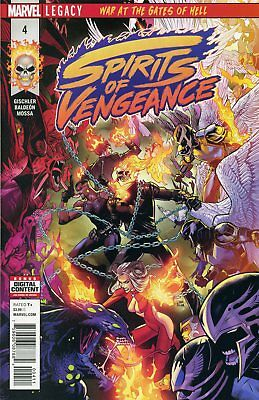Spirits Of Vengeance #4 (Of 5) Leg - Marvel Comics - Us-Comic - G465