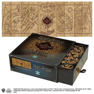 Harry Potter Marauder's Map 1000pc  Jigsaw Puzzle Noble Collection NN9457