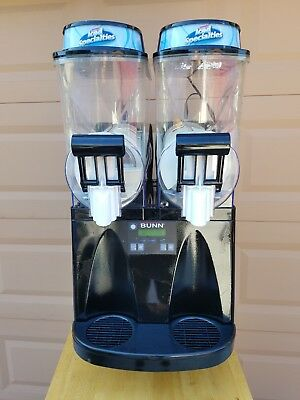 Bunn Ultra-2 High Performance Frozen Drink Machine 2 Hopper Black #34000.0144
