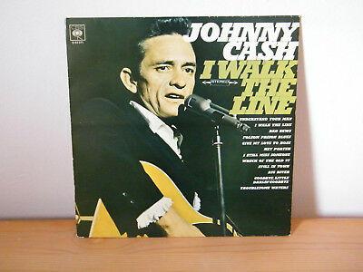 Vinyl LP  Johnny Cash - I Walk The Line