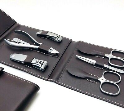 Niegeloh Solingen 7 pcs TopInox® Luxurery Manicure/Pedicure set Germany