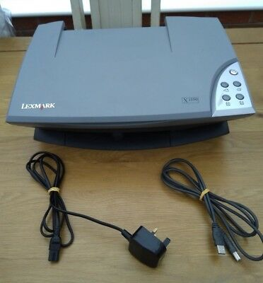 LEXMARK X1190 SCANNER DRIVER FOR WINDOWS 7