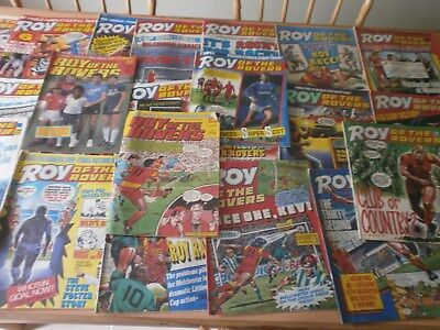 26, Roy of The Rovers Comics, dates from 2 -1985, 3 -1986, 21- 1987.