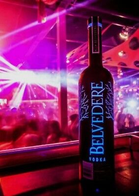 Belvedere Luminous  BLACK edition EMPTY BOTTLE 1.75 Litre