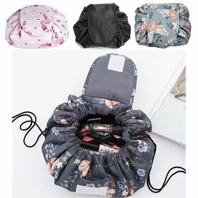 Lazy Quick Pack Toilet Magic Bag Pouch Large Cosmetic Drawstring Travel Storage