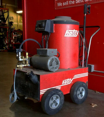 Used Hotsy 770B Electric Hot Water Pressure Washer SN: C63732-0399