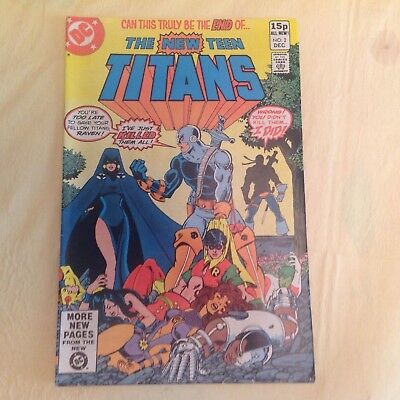 New Teen Titans Issue 2 First Deathstroke