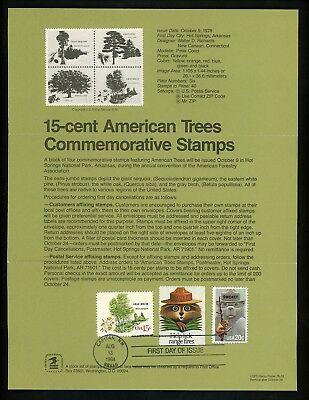 Ranto Cachet US FDC #2096 on 1764-67 Unofficial Souvenir Page Smokey Bear 1984