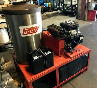 Used Hotsy 1260ss Gas Engine Hot Water Prw  SN: H51723-0800  (1.110-533.0)