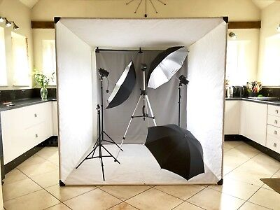 Portable Photography shooting studio set up 200cm light box/tent lights, tripods