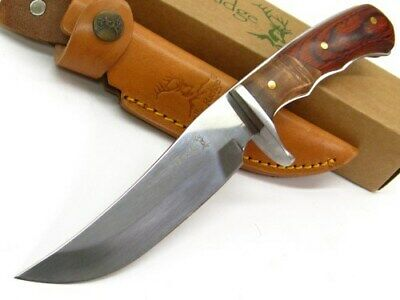 Elk Ridge ER-085 Finger Grooved Cocobolo Hunter Full Tang Hunting Knife