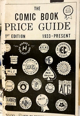 Overstreet Comic Book Price Guide Issue #1 (white edition first of two 1st eds.)