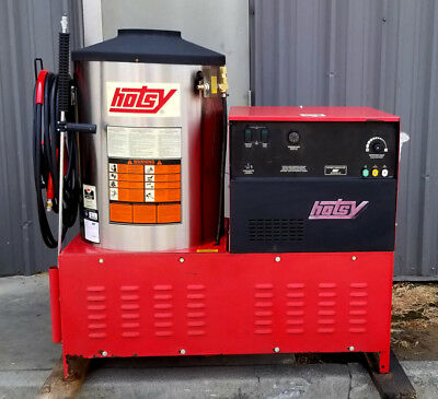 Used Hotsy 1822ss Electric/LP Hot Water Prw  SN: 161817  (1.109-599.0)