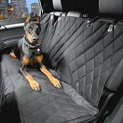 Quilted Pet Rear Seat Cover Protector For Seat Exeo ST Estate 2009 - 2013