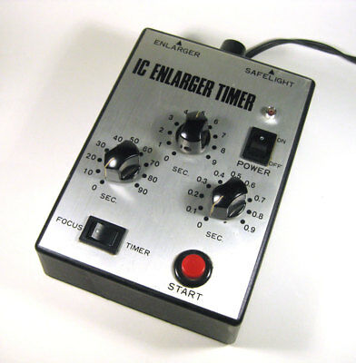 Senz 3-dial type Electronic IC Enlarger Timer