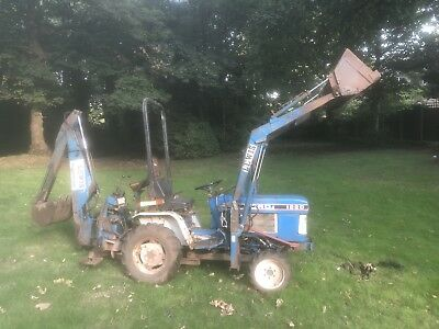 ford 1220 compact tractor 4wd