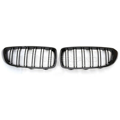 M Color Gloss Black Front Grill For 2014 2015 16 2017 Bmw F32 F33
