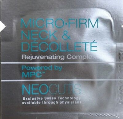 10 X Neocutis Microfirm Neck & Decollete  Complex, samples 1 ml EA TOTAL  10 ML