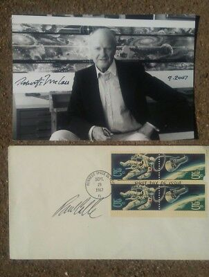 Legendary Space Artists Robert McCall and Paul Calle Autographed items