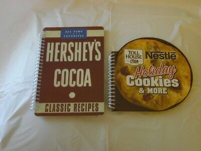 Nestle Toll House Holiday Cookes & More + Hershey Cocoa Classic Recipes Cookbook