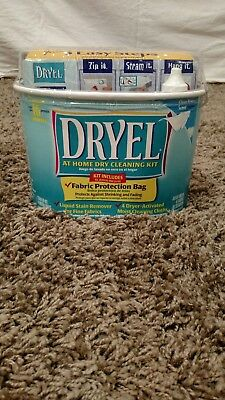 Dryel At Home Dry Cleaning In Dryer Kit 4 Loads Garments