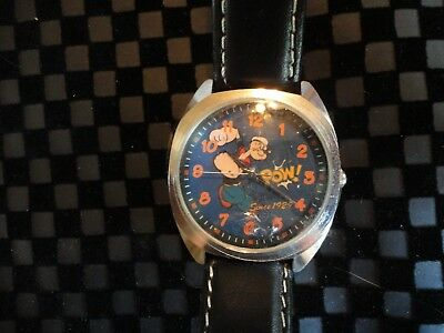 """Collectible """"Popeye"""" watch 2004 L/E King Features 75th"""