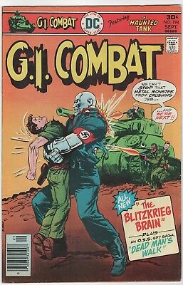 G.I. Combat #194 In Very Fine 8.0 Condition (Sept. 1976, DC)