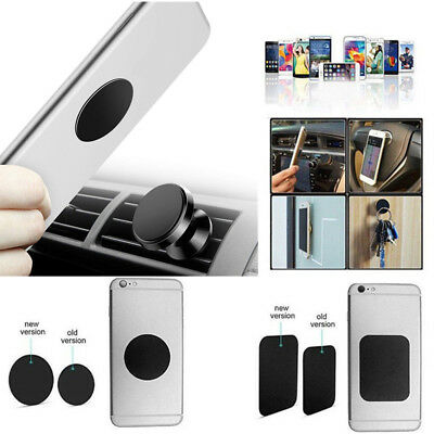 4pcs Metal Plate Magnetic Adhesive Stickers Replace For Car Mount Phone Holder X