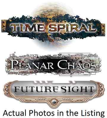MTG Magic the Gathering Time Spiral, Future Sight & Planar Chaos Mix. Multi List