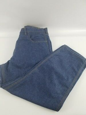 Tyndale FR Flame Resistant Carpenter Style Work Pants Jeans Mens Size 40 X 29